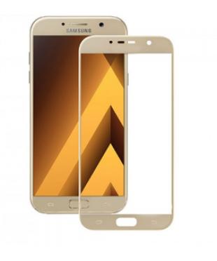 Защитное стекло Samsung A520F Золото