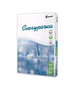 Бумага Снегурочка А4 (500лис, плотность 80г/м2, белизна 95%)