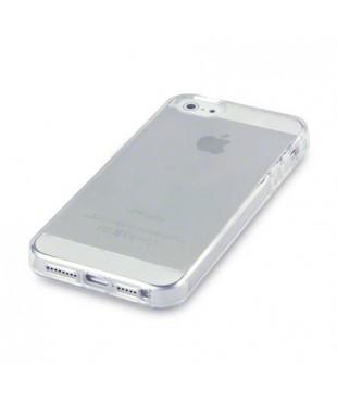 Чехол iPhone 5 силиконовый прозрачный