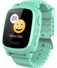 Детские часы Elari KidPhone 2 зеленые