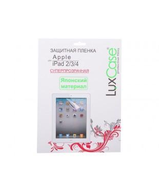 Плёнка для iPad 3/4 Lux Case (суперпрозрачная)