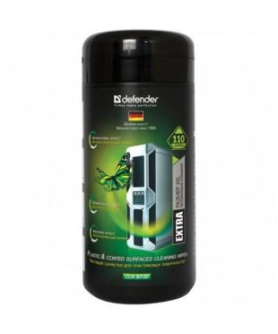 Салфетки влажные DEFENDER CLN30100 универсальные в тубе (110шт)