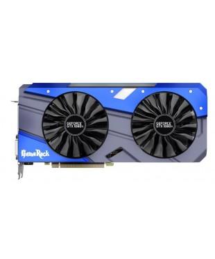 Видеокарта PCI-E 11264Mb GeForce GTX1080Ti Palit GameRock Premium NV (352bit,GDDR5X,DVI)