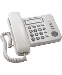 Телефон проводной Panasonic KX-TS2352RUW
