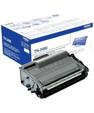 Тонер-картридж Brother TN-3480 для Brother DCP L5500DN/ L6600DW (8000стр.)