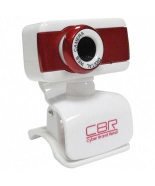 Веб-камера CBR CW 832M Red 1.3МП/1280*1024 микрофон,крепл