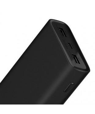 Аккумулятор внешний Xiaomi Mi Power Bank 3 Pro 20000mAh черный
