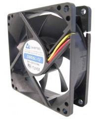 Вентилятор Chieftec AF-0825PWM, 80x80x25, 32-39дБ, 4 pin