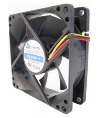 Вентилятор Chieftec AF-0825S, 80x80x25, 24-26дБ, 3 pin