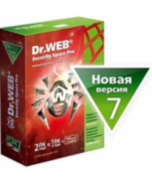 Антивирус Dr.Web Security Space Pro 2года 2ПК