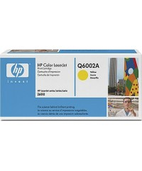 Картридж оригинальный HP Q6002A Yellow