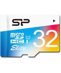 Карта памяти 32GB MicroSDHC Silicon Power Class 10 (адаптер)