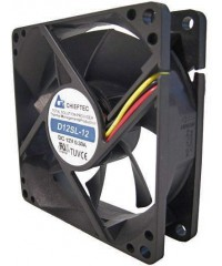 Вентилятор Chieftec AF-1225S, 120x120x25, 24-27дБ, 3 pin