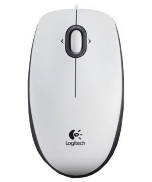 Мышь Logitech B100 (910-003360) White