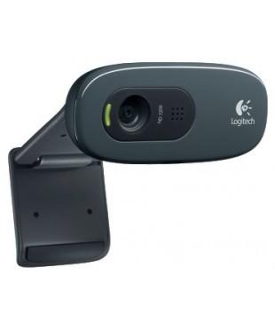 Веб-камера Logitech WebCam C270 (960-000636) USB/3M/Mic/Black