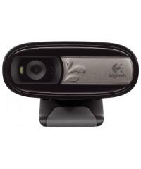 Веб-камера Logitech Webcam C170  USB 2.0, 640*480, 5Mpix foto, Mic, Black (960-000760)