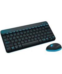 Комплект Logitech MK240 Wireless (920-005790) Black