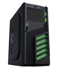 Корпус ATX 500W PowerCool S2006U3BK