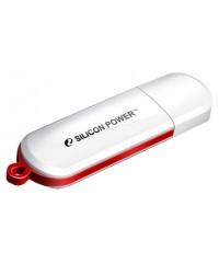 Флэш диск USB Silicon Power 8Gb LuxMini 320 белый