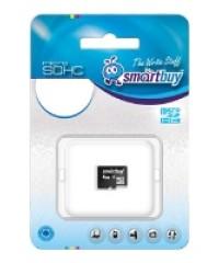 Карта памяти 32GB MicroSDHC SMartBuy Class 10