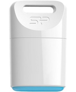 Флэш диск USB Silicon Power 4GB Touch Т06 белый