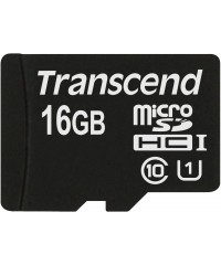 Карта памяти MicroSDHC 16GB Transcend Class10 U1 UHS-I 300x no Adapter (TS16GUSDCU1)
