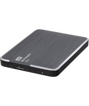 Внешний жесткий диск WD My Passport Ultra 500GB Titanium (WDBLNP5000ATT)