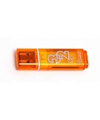 Флэш диск USB Smart Buy 32Gb Glossy оранжевый