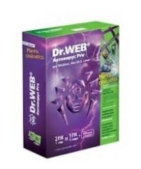 Антивирус Dr.Web Pro 1год 2ПК