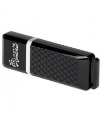 Флэш диск USB Smart Buy 64Gb Quartz черный