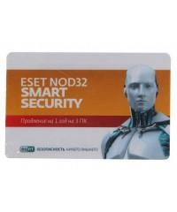 Антивирус NOD32 Smart Security 1год 3ПК карточка