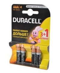 Батарейка LR03 Duracell Basic BL3+1/40