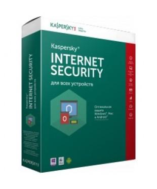 Антивирус Kaspersky Internet Security 2013-2016 1год 2ПК