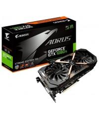 Видеокарта Gigabyte AORUS GeForce GTX1080TI 11264Mb, GDDR5X,352bit,DVI,HDMI [GV-N108TAORUSX-11GD]