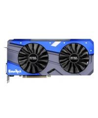 Видеокарта PCI-E 11264Mb GeForce GTX1080Ti Palit GameRock NV (352bit,GDDR5X,DVI)